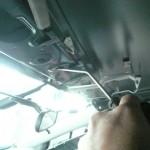 二重パネル内の凹みのツールアクセス
